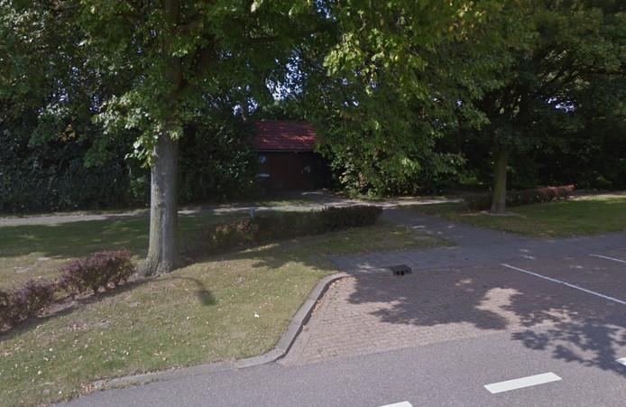 Het voormalige duivenlokaal aan de Boomdijk in Hansweert.