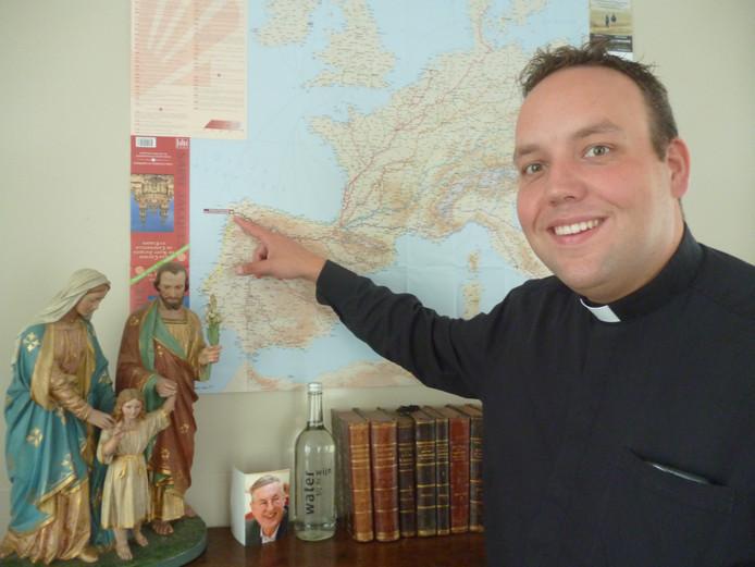 Patrick Kuis heeft het naar zijn zin in Oijen.