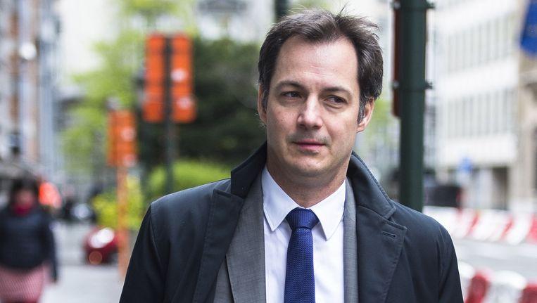"""Minister van Post Alexander De Croo noemt de afgesprongen deal """"een gemiste kans""""."""