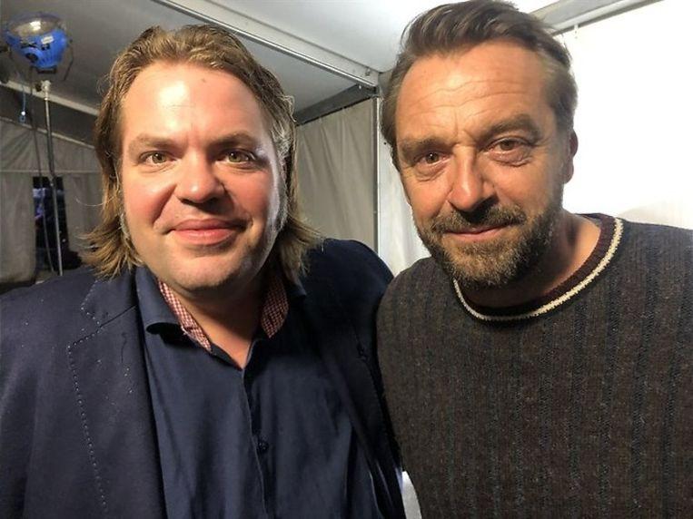 Frank Evenblij neemt een selfie met Tom.