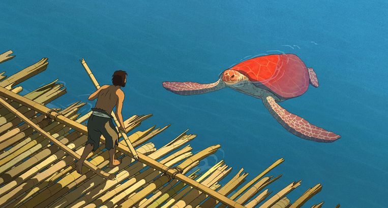 Still uit The Red Turtle. Beeld