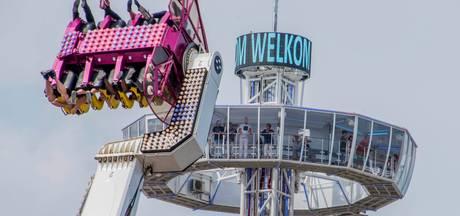 Tilburgse kermis: Goldmine Tower en een zweefmolen van 80 meter hoog