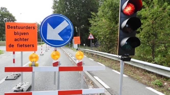 Tot eind november tijdelijke verkeerslichten door werken in Gidsenlaan