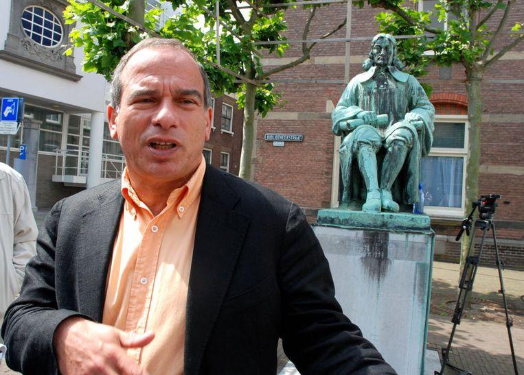 De Jong spande in 2007 een civiele zaak aan tegen De Hond (foto), omdat deze hem telkens publiekelijk aanwees als de dader in de Deventer moorzaak. Foto GPD Beeld