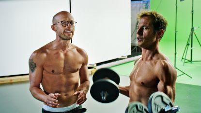 Staf en Mathias Coppens schoppen het in 2 maanden tijd tot onderbroekenmodel (en het resultaat mag er wezen)