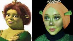 Moslima vormt zichzelf om naar Disneyfiguren en het resultaat is verbluffend