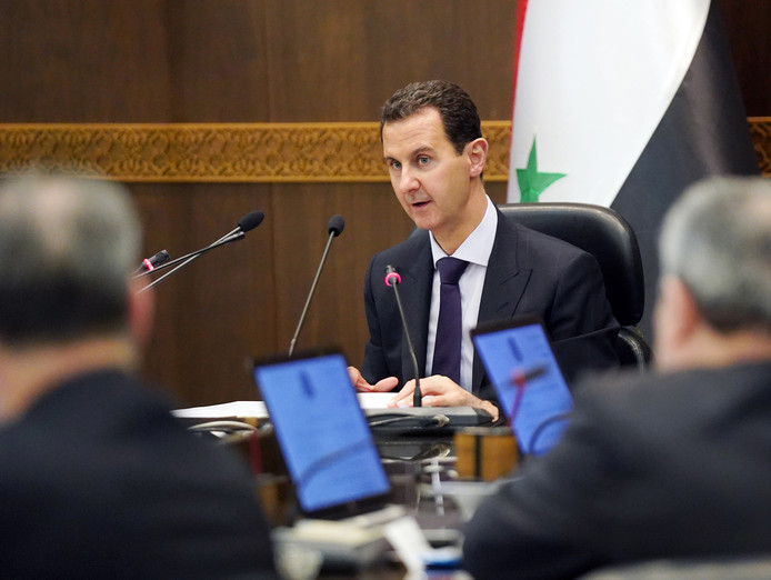 De Syrische leider Bashar al-Assad.
