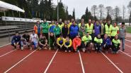 G-sporters leven zich uit op atletiekmeeting