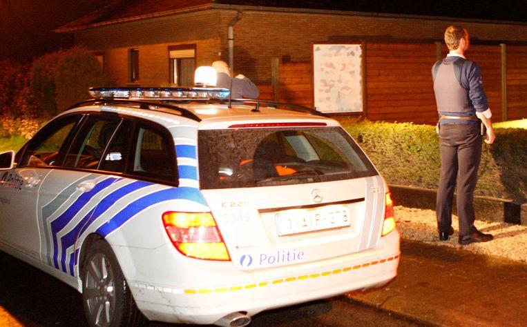 illustratie politie inbraak