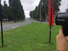 Automobilist scheurt met 101 kilometer per uur over Lozerlaan en kan direct rijbewijs inleveren