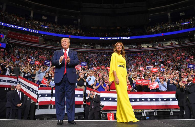 Trump zet harde toon voor de verkiezingen van 2020