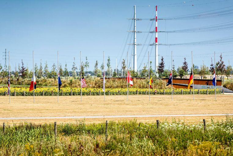 Het Nationaal Monument MH17 Beeld ANP