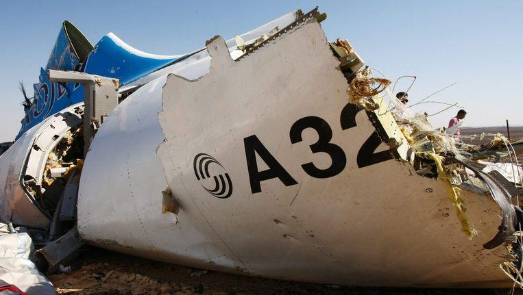 Aanwijzingen dat het Russische toeristenvlucht boven de Egyptische Sinaï is neergestort door een bomaanslag stapelen zich op. Beeld epa
