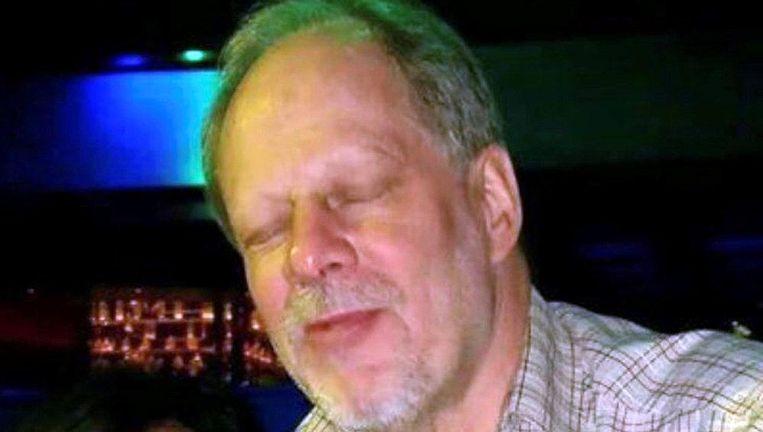 Stephen Paddock, de man die deze week het vuur opende op bezoekers van een muziekfestival in Las Vegas Beeld reuters