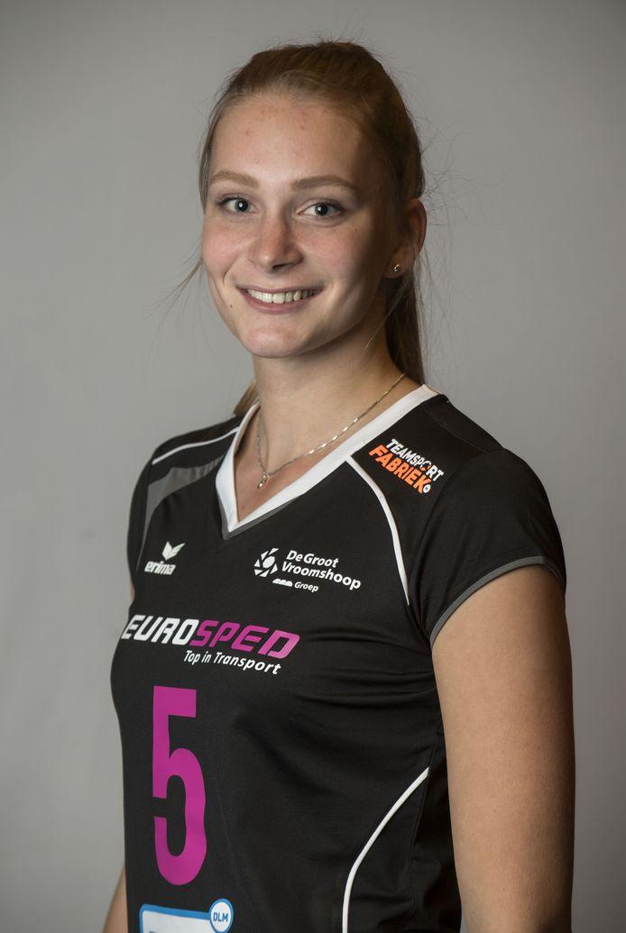 Kirsten Wessels maakt de overstap van Eurosped naar Sliedrecht Sport