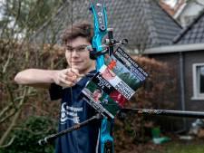 Sponsoravond voor droom handboogschutter Willem Bakker uit Waalre