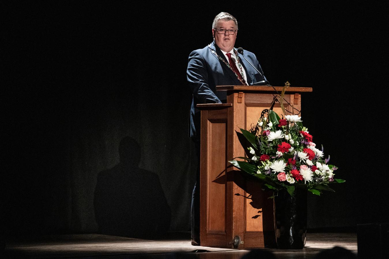 Burgemeester Bruls van Nijmegen.