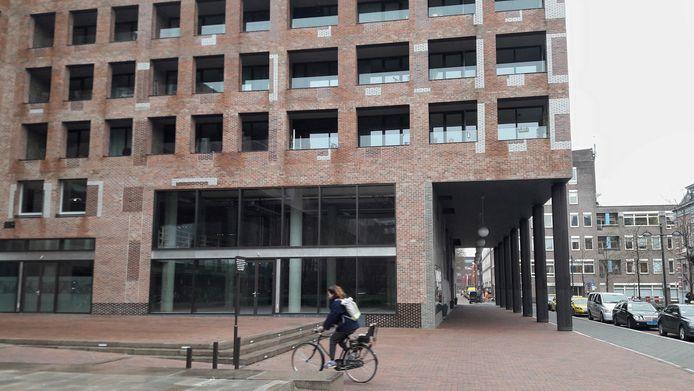 De ruimte bij het station in Breda - aan de kant van het centrum - waar Mooie Boules zou komen.