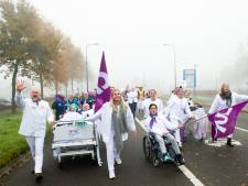 Stakingsleider: 'Volgende keer met ziekenhuisbedden over de snelweg'