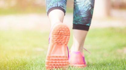 10 minuten wandelen is even effectief als een uur hardlopen