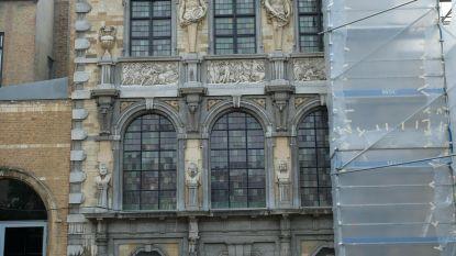 Gevel Rubenshuis wordt gerenoveerd