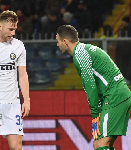 Curieuze eigen goal leidt nederlaag Inter in