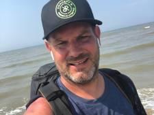 Helmondse Jorik staakt vierdaagse wandeltocht voor overleden dochtertje: 'Mijn lichaam is volledig op'