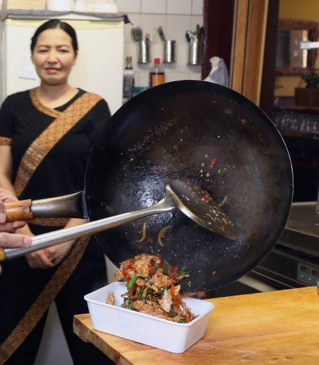 In Axel vinden we een Thais eetcafé: Andaman. Het is de enige in Zeeland