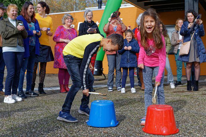 Een activiteit bij De Bunthoef in het najaar van 2019.
