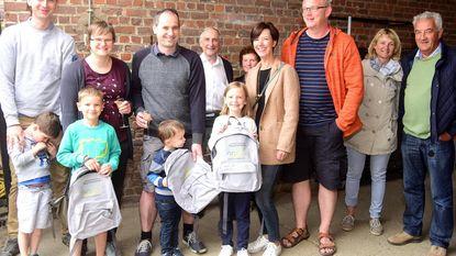 Kinderen die geboorteboom in Paddenbroek hebben, krijgen rugzak van gemeente