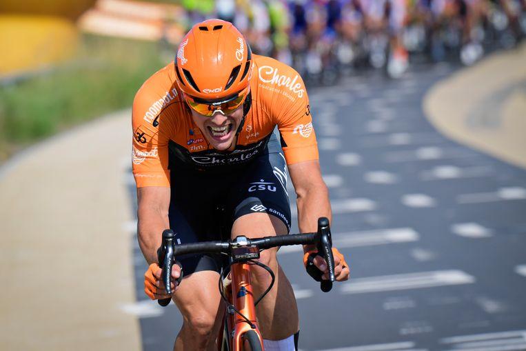 Stijn Steels, een Belgische renner van Roompot-Charles.
