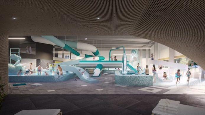 Zo zal het zwembad van Aalst eruit zien.