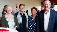 Gemeente huldigt Ria Vercruysse, Annemie De Gussem, Luc Deschamps en Christiaan Van herzeele