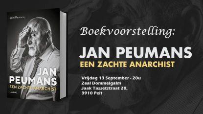 Jan Peumans stelt zijn boek voor in zaal Dommelgalm