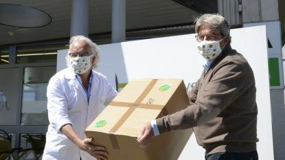 Beci schenkt 1.000 'Sprout to be Brussels'-mondmaskers aan UZ Brussel