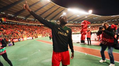 """Doelpuntenmachine Romelu Lukaku is supporters dankbaar: """"Leuk om in deze omgeving te spelen"""""""