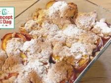 Recept van de dag: Peach cobbler