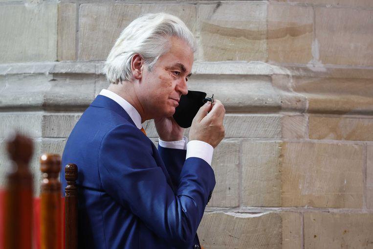 Geert Wilders (PVV) Beeld ANP