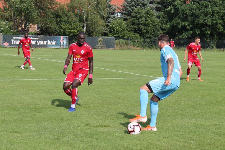 Antwerp speelde een oefenmatch tegen de Duitse derdeklasser Uerdingen. Seck was gelegenheidsrechtsback.
