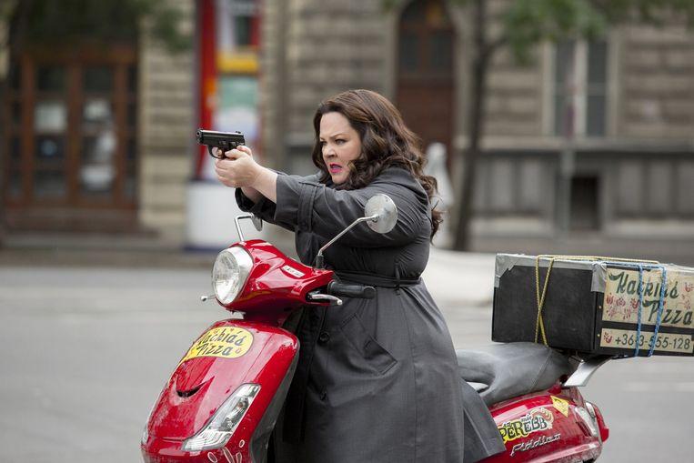 Melissa McCarthy in Spy. Beeld .