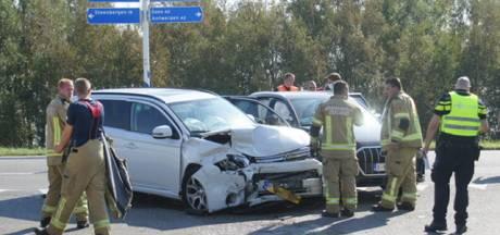 Drie gewonden bij ongeluk op Oesterdam