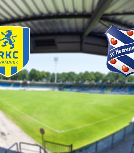 LIVE | Heerenveen op bezoek bij hekkensluiter RKC