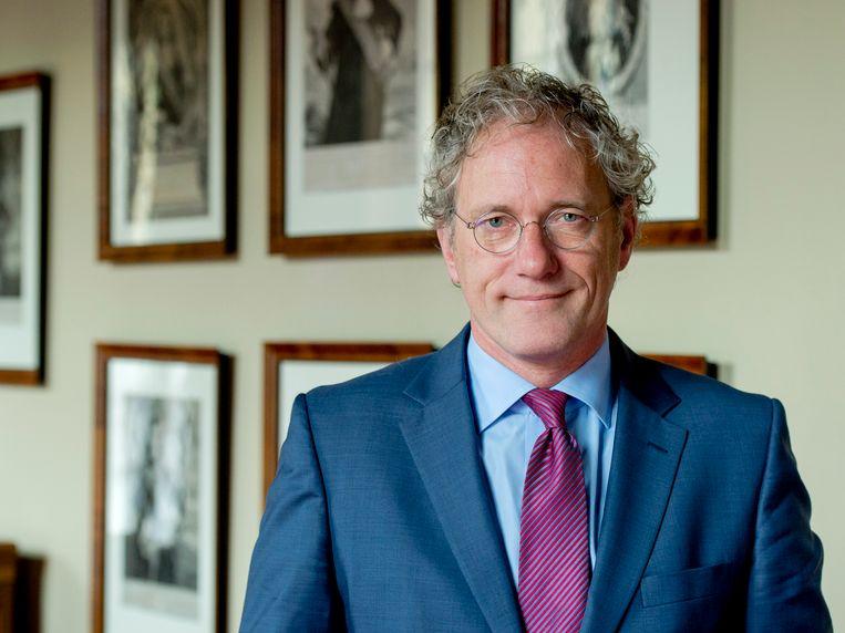 De nieuwe vicevoorzitter van de Raad van State Thom de Graaf. Beeld ANP