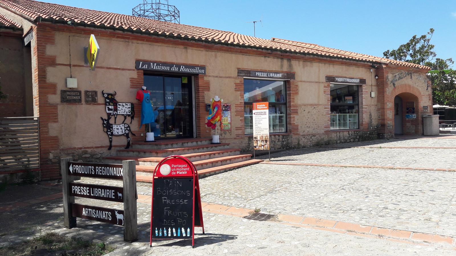 De winkel met streekproducten