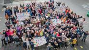 """Basisschool De Horizon organiseert minibetoging tijdens grote onderwijsstaking: """"We beseffen dat we de mooiste  job ter wereld hebben en willen die ten volle kunnen uitvoeren"""""""