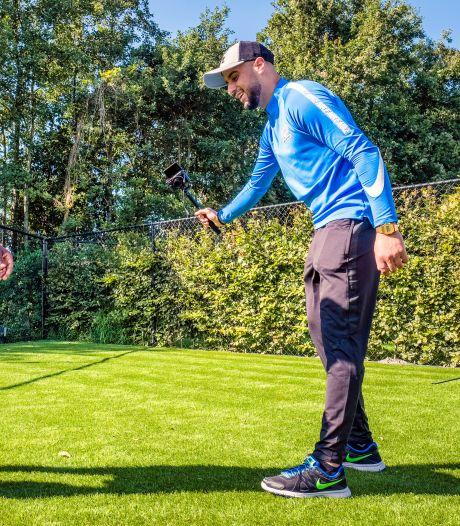 De huisvlogger van Helmond Sport steekt voetbalfans hart onder de riem met filmpje: 'Hou vol, hou vast'