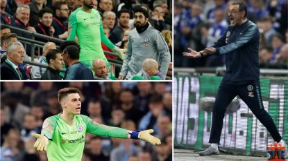 Man. City verslaat Chelsea na strafschoppen in League Cup-finale na ongeziene doelmannenklucht bij 'Blues'