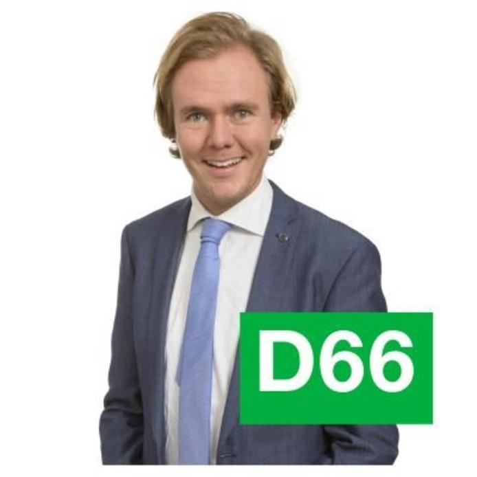D66-fractielid Remy Maessen