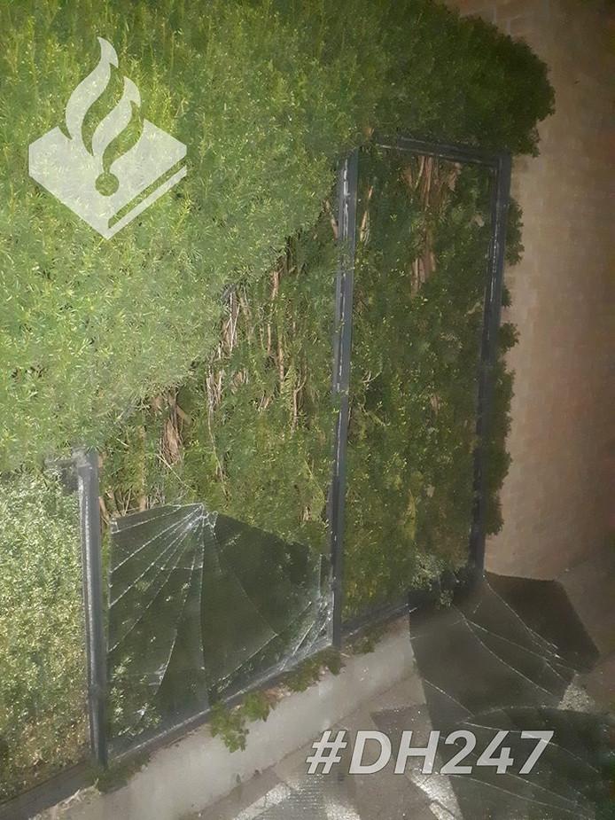 Voor de derde keer in een maand tijd is sprake van vandalisme bij het wooncomplex.