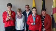 Laakdalse medaillewinnaars van Special Olympics in de bloemetjes gezet